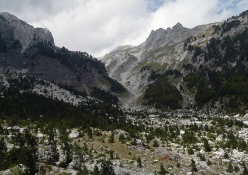 Valbona valley from near the Valbone Thethi pass
